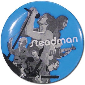 "1 3/4"" Round Ad Embellishment for Marketing"