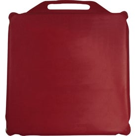 """13"""" x 2"""" Stadium Cushion Branded with Your Logo"""