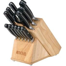 14 Pc Knife Set w/Removable Knife Block