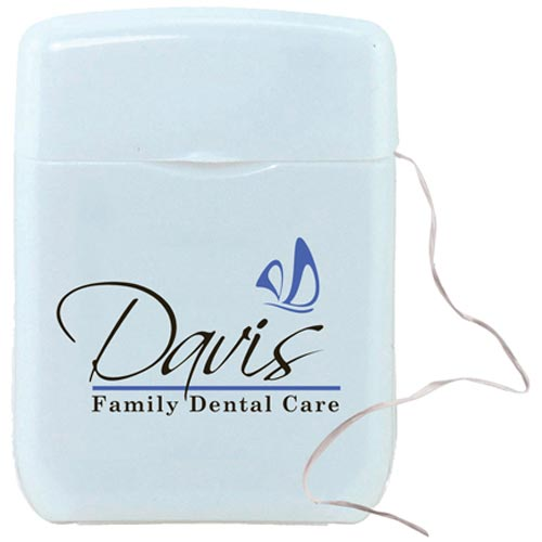 White Dental Floss