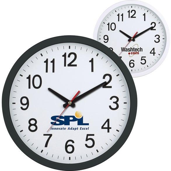 Custom Clocks & Personalized Clocks | Quality Logo Products, Inc.