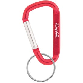"2 3/4"" Carabiner Imprinted with Your Logo"