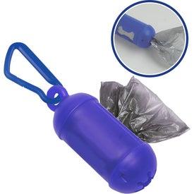 Logo #2 Bag Dispenser with Carabiner