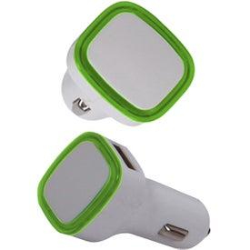 2 in 1 USB Car Adapter for Customization