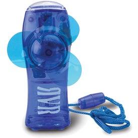 2 In 1 Mini Fan Flashlight