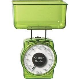 2 Piece Kitchen Scale with Your Logo