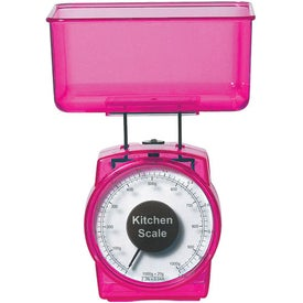 2 Piece Kitchen Scale Imprinted with Your Logo