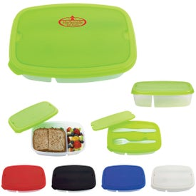 2 Section Lunch Containers