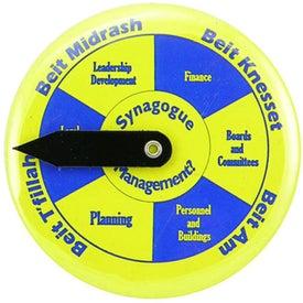 """2 1/2"""" Round Spinner Button"""