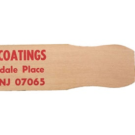 21 Inch Paint Paddle Printed with Your Logo
