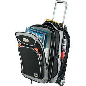 Imprinted Travelpro TProBold Wheeled Expandable Carry-On