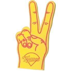 """22"""" Victory Hand Mitt for Advertising"""