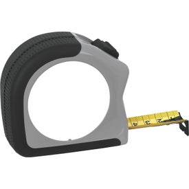 25' Gripper Tape Measure Branded with Your Logo