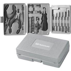25 Piece Tri Fold Tool Kit