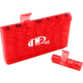 Logo 28 Compartment Med Minder