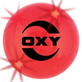 """Branded 2"""" Ball with LED Lights"""