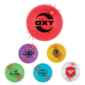 """2"""" Ball with LED Lights with Your Logo"""