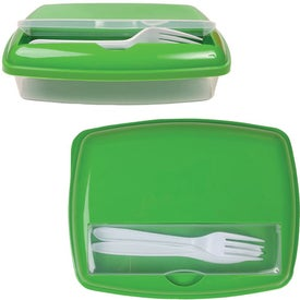 Dual Compartment Lunch Box for Your Company