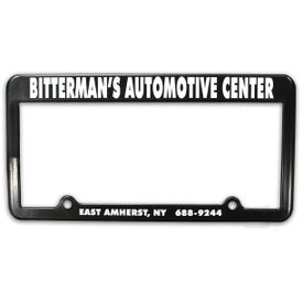 2 Holes License Plate Frame Giveaways