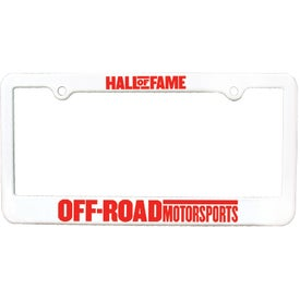 Customized 2 Holes License Plate Frame