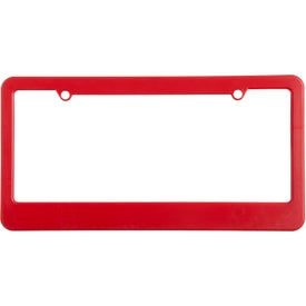 2 Holes with Straight Bottom License Plate for Promotion