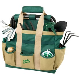2-in-1 Garden Tool Combo Imprinted with Your Logo