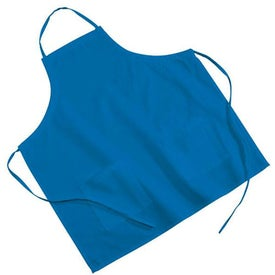 2-Pocket Poly/Cotton Twill BBQ Apron Printed with Your Logo