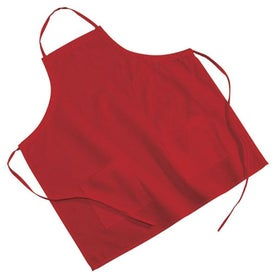 2-Pocket Poly/Cotton Twill BBQ Apron (Colors)