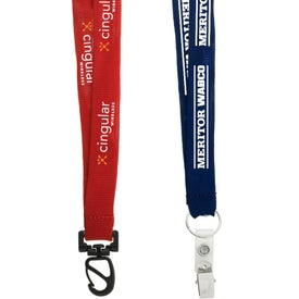 "3/4"" Euro Lanyard for your School"