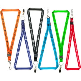 "3/4"" Neck Lanyard (18"" Length)"