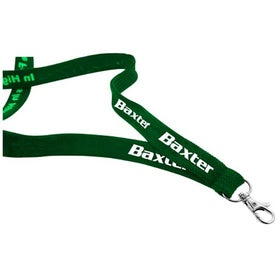 """3/4"""" Woven Lanyard with Your Logo"""