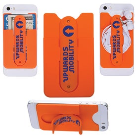 3-In-1 Cell Phone Card Holder for your School