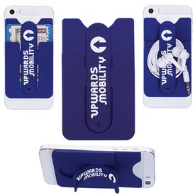 Customized 3-In-1 Cell Phone Card Holder