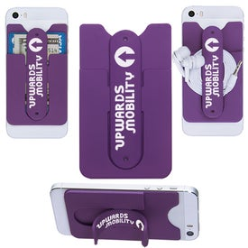 Personalized 3-In-1 Cell Phone Card Holder