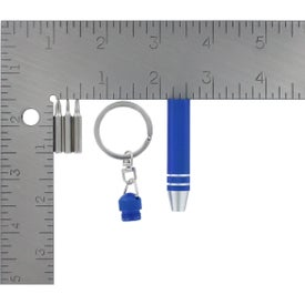 Personalized 3 In 1 Multi-Driver With Key Ring