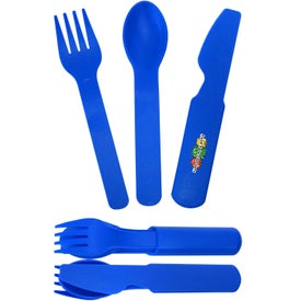 3 in 1 Plastic Flatware