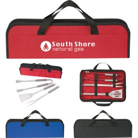 3 Piece BBQ Set In Cases