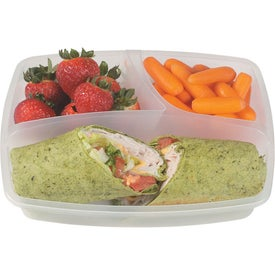 3 Section Lunch Container for Your Church