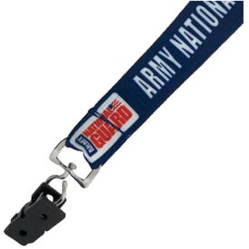 Imprinted Environmentally Friendly Heat Transfer Lanyard