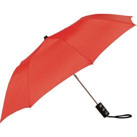 "36"" Seattle Folding Auto Umbrella with Your Slogan"