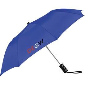 "Company 36"" Seattle Folding Auto Umbrella"