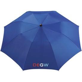 "Custom 36"" Seattle Folding Auto Umbrella"