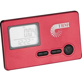 Personalized 3-Axis Slim Pedometer