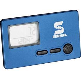 Custom 3-Axis Slim Pedometer