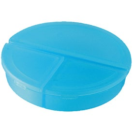 Custom 3 Compartment Pill Holder