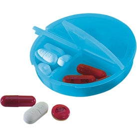 3 Compartment Pill Holder for Your Organization