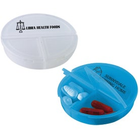 3 Compartment Pill Holder