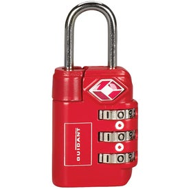 3 Dial Travel Sentry Approved Luggage Lock for Promotion