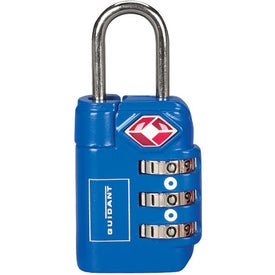 3 Dial Travel Sentry Approved Luggage Lock for Your Organization