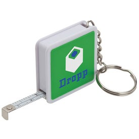 3 Ft. Metal Tape Measure Keyring for Your Church